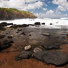 Rock Pool - The Blowhole, Mornington Peninsula by Dave Callaway
