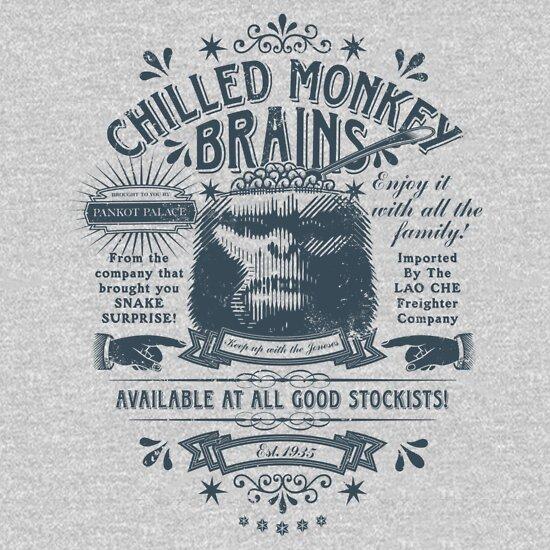 TShirtGifter presents: Chilled Monkey Brains