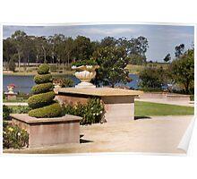 Formal Garden - Hunter Valley Gardens Series Poster