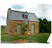Cottage by the Mill, Oatlands Poster