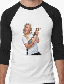 Julie Johnston - World Cup Men's Baseball ¾ T-Shirt