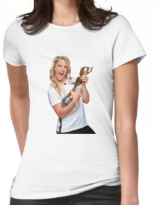 Julie Johnston - World Cup Womens Fitted T-Shirt