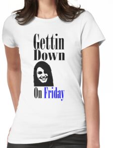 Rebecca Black Fiday Womens Fitted T-Shirt