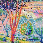Erik's garden by Kerry  Thompson