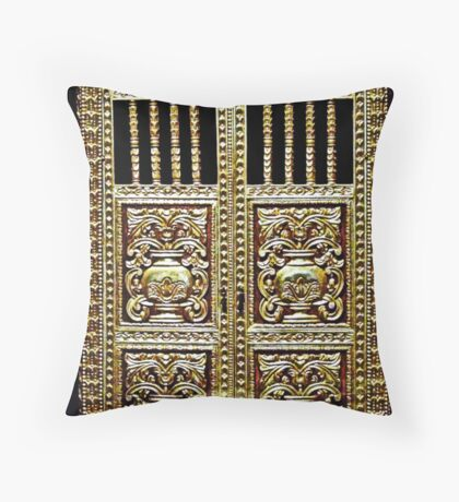 Gilded Cabinet Throw Pillow