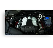 Audi A6 3.0 V6 TFSI Engine Canvas Print