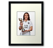 Lauren Holiday - World Cup Framed Print