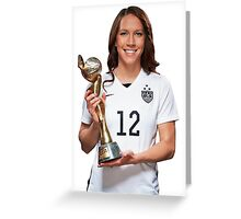 Lauren Holiday - World Cup Greeting Card