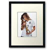 Tobin Heath - World Cup Framed Print
