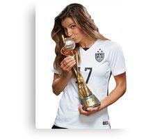 Tobin Heath - World Cup Canvas Print