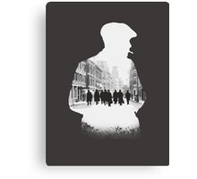 Peaky blinders - light Canvas Print