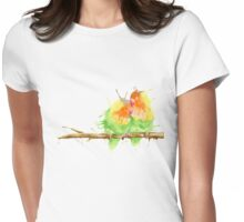 Lovebirds  Womens Fitted T-Shirt