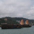 Halong Bay harbour by machka