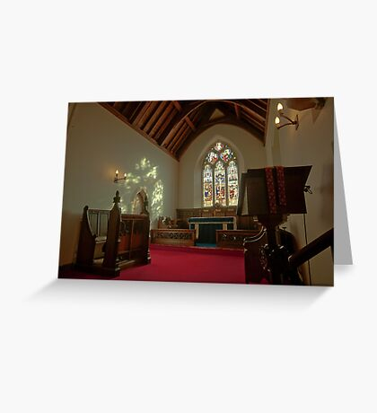 Holy Trininty Great Langdale Greeting Card