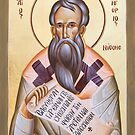 St Gregory of Nyssa by ikonographics