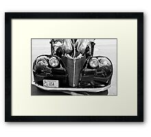time when they built a great car Framed Print