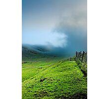 Mist - Dales Voe, Shetland Photographic Print