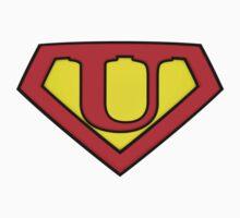 SUPER U Logo Shield Kids Clothes
