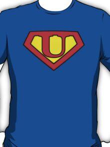 SUPER U Logo Shield T-Shirt