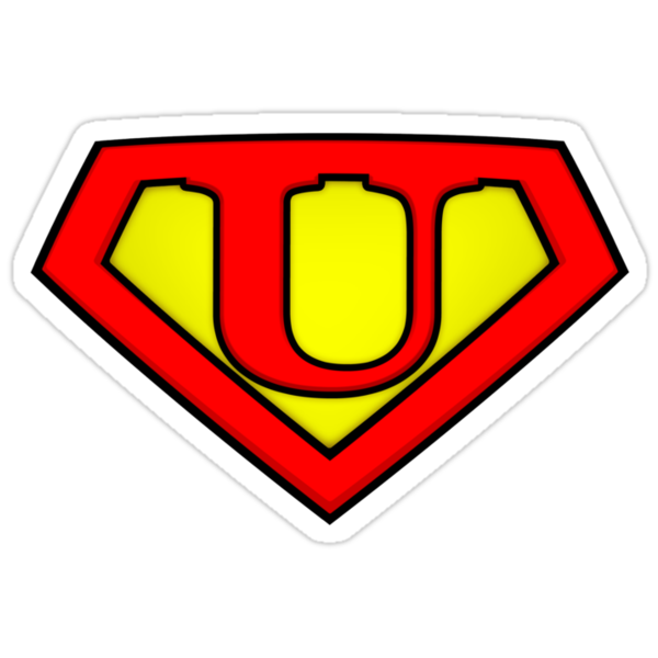 SUPER U Logo Shield by adamcampen
