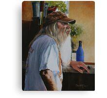 The Cigar Salesman Canvas Print