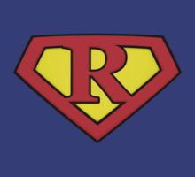 SUPER R Logo Shield by Adam Campen