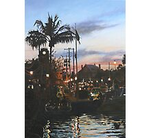 Sunset over Key West Photographic Print