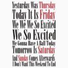 Rebecca Black Friday by connor95
