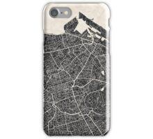 Edinburgh map iPhone Case/Skin