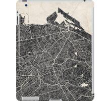 Edinburgh map iPad Case/Skin