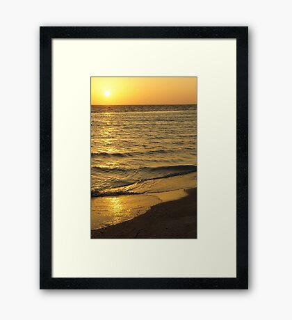 Serene Sky Framed Print