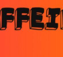 Love Caffeine Sticker