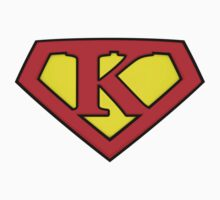 Classic K Diamond Graphic Kids Clothes