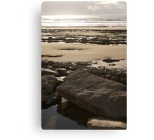 Stonebeach - Southerndown, Wales Canvas Print