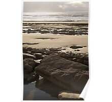 Stonebeach - Southerndown, Wales Poster