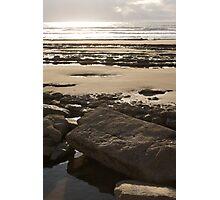 Stonebeach - Southerndown, Wales Photographic Print