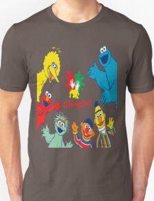 sesame street crew. Unisex T-Shirt