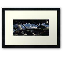 Archer valley. Framed Print