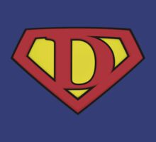 SUPER D Logo Shield by Adam Campen