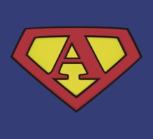 SUPER A Logo Shield by Adam Campen