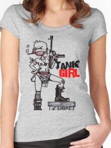 TANK GIRL Women's Fitted Scoop T-Shirt