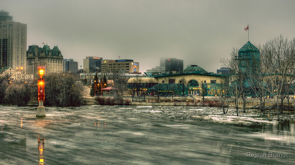 Winnipeg Flood 2011 by Réjean Brandt