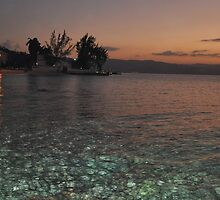 Jamaican Sunset, Montego Bay by jlevean