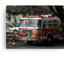 42 mt ephraim little league parade Canvas Print