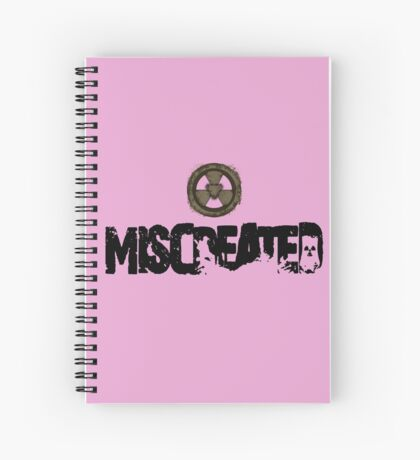 Miscreated  Design 1 Pink (Official) Spiral Notebook