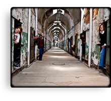 Women of Crime Canvas Print