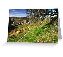 Rural Hurstwood  Greeting Card
