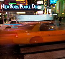 NYC - Taxi exposure freeze on Times Square by hermez