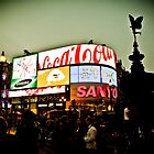 Picadilly Circus cross-processed by hermez