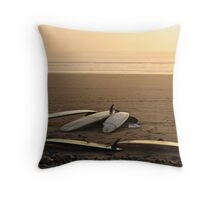 Day's End: Oregon Coast Throw Pillow